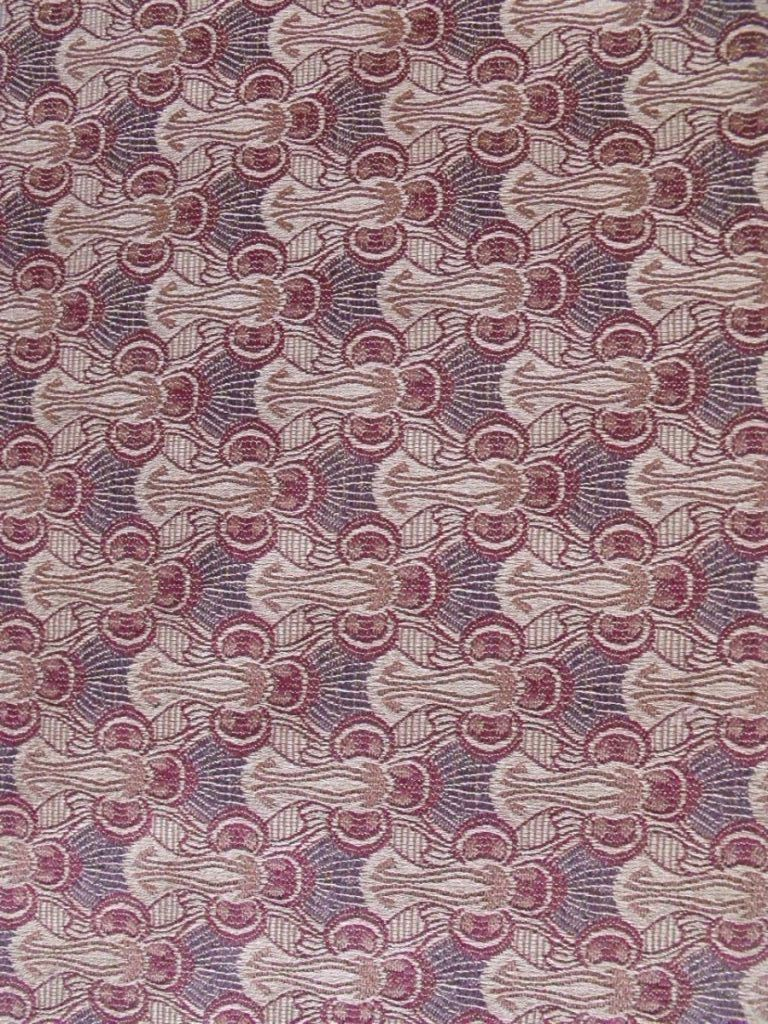 Art Nouveau fabric design from the Wiener Werkstatte