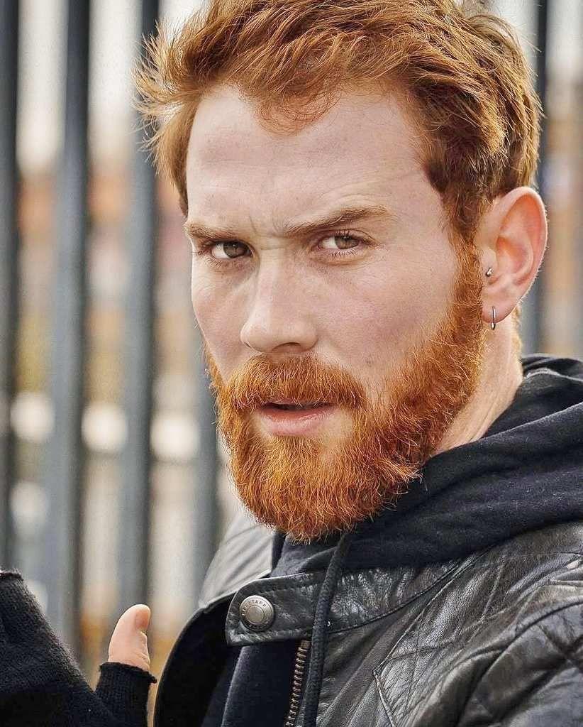 Laut Wissenschaft Haben Rothaarige Menschen Genetische Superkrafte In 2020 Red Hair Men Beard Styles For Men Ginger Men