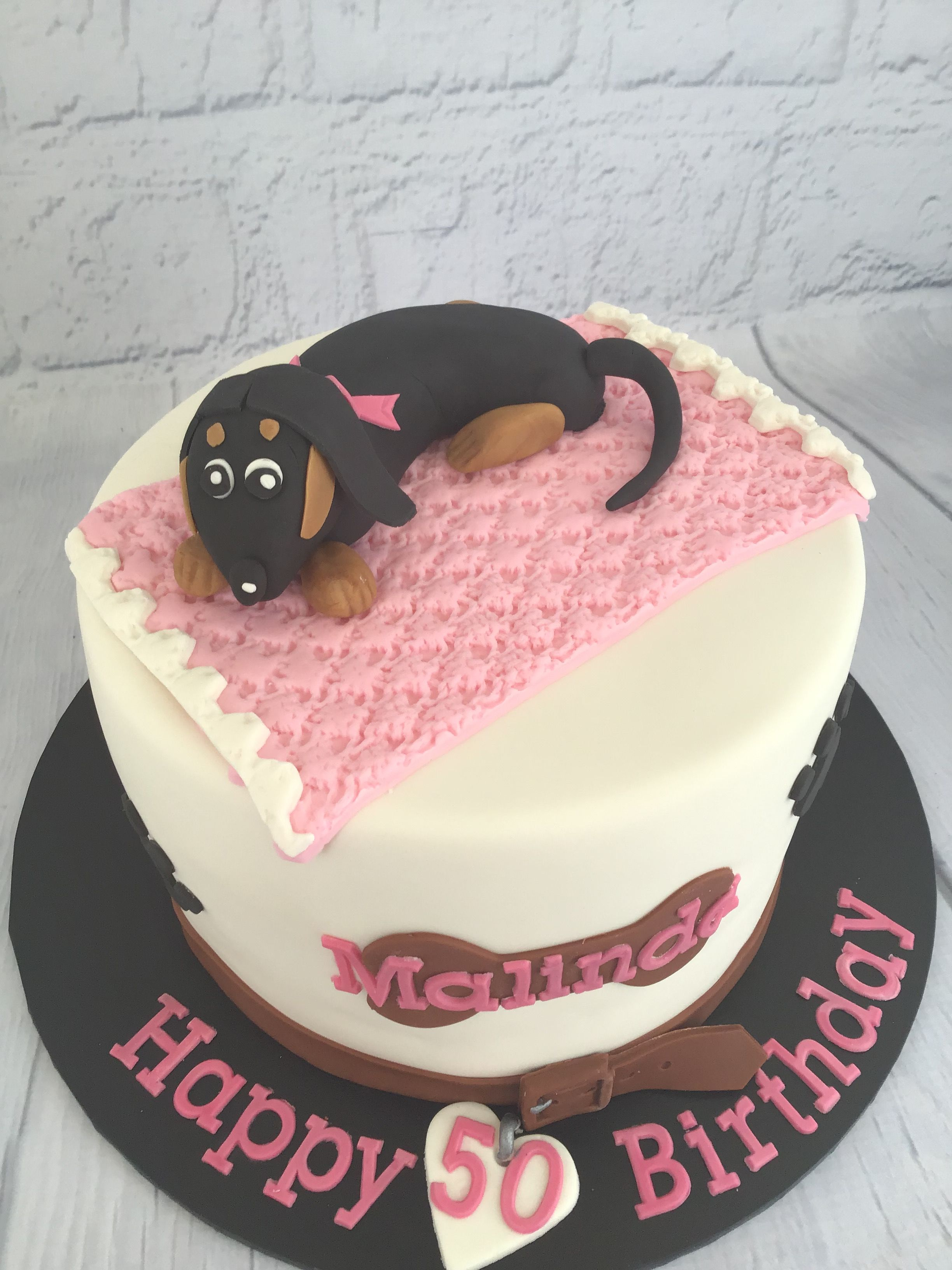 Super Dachshund Birthday Cake With Images Birthday Cake Cake Funny Birthday Cards Online Unhofree Goldxyz