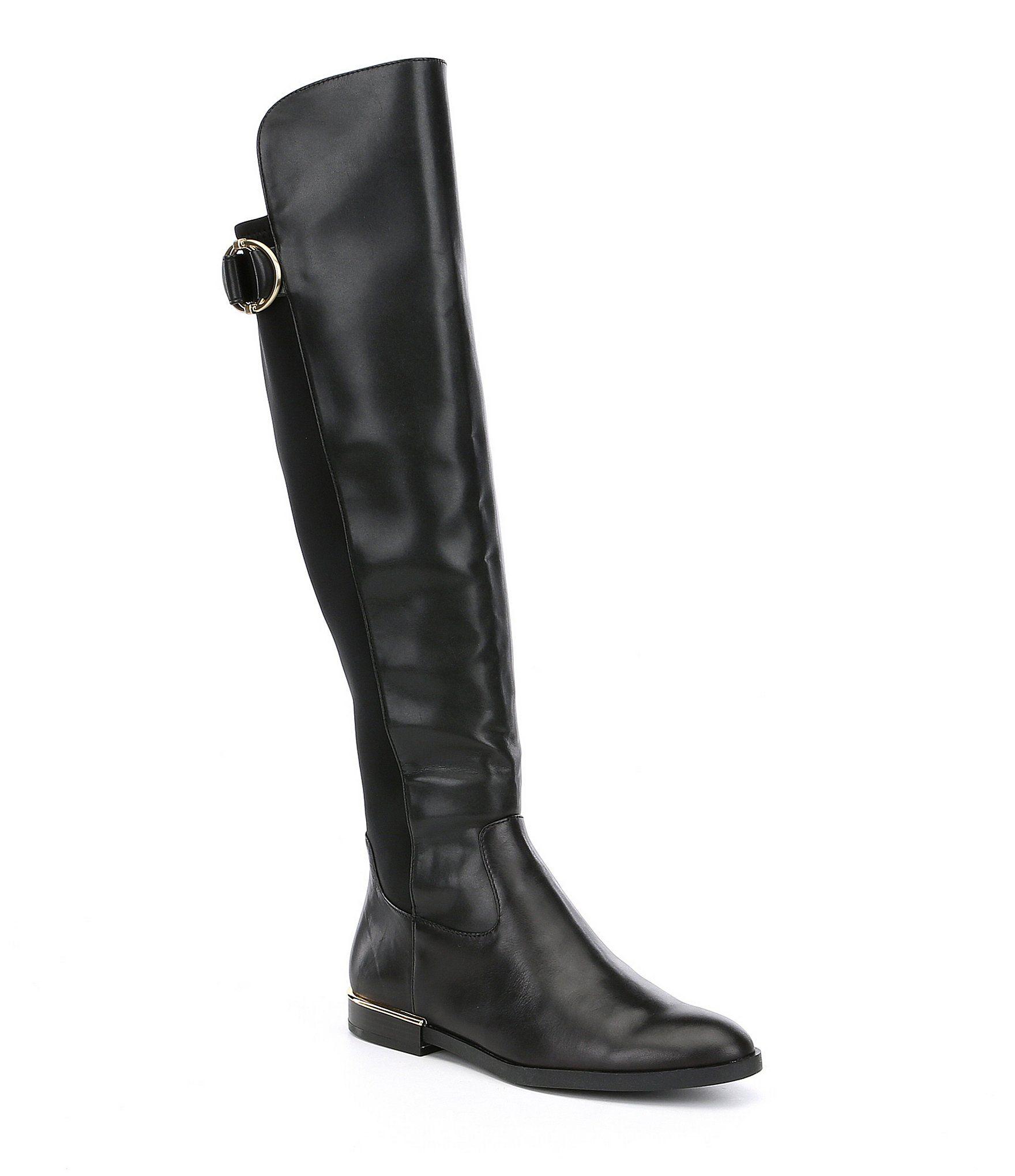 0c4d05f50d6f Calvin Klein Priscila 50 50 Wide Calf Boots