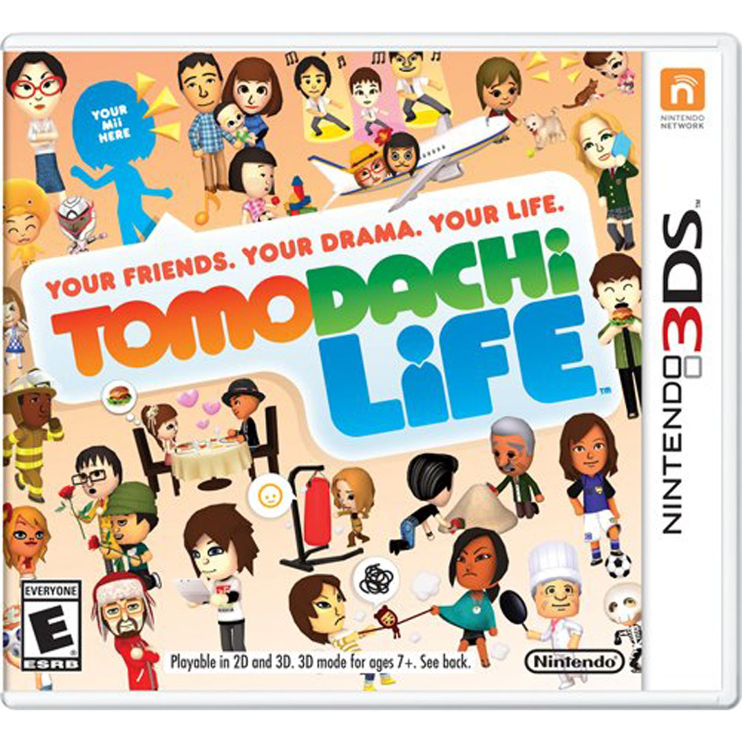Tomodachi Life Nintendo Nintendo 3ds Digital Download 0004549668048 Walmart Com In 2020 Nintendo 3ds Games Ds Games Nintendo 3ds