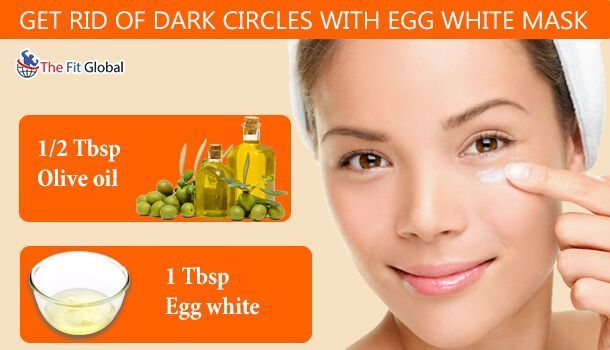 If you are prompted to work on night shifts, dark circles are to ruin your #beauty! You cannot, however, avoid your working hours, but you can, of course, make the dark circles vanish through Egg white #face pack.  #darkcircles #eggwhite #DarkCirclesRemedies #DarkCirclesFace #darkcircle