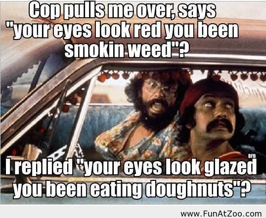 Funny joke to tell a cop - Funny Picture