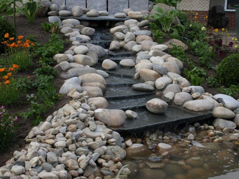 bachlauf selber bauen – anleitung und praktische tipps | basteln, Garten und erstellen