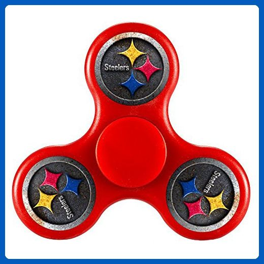JIEGEHAPO Tri Fid Spinner Pittsburgh Steelers Nice EDC High Speed