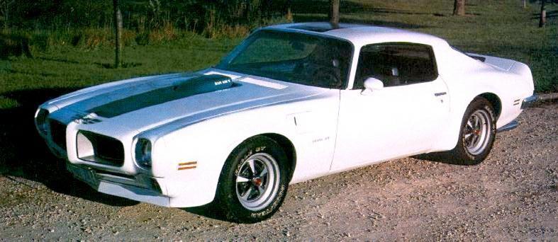 1970 Pontiac Trans Am, Ram Air IV (Only 88 Trans Ams were