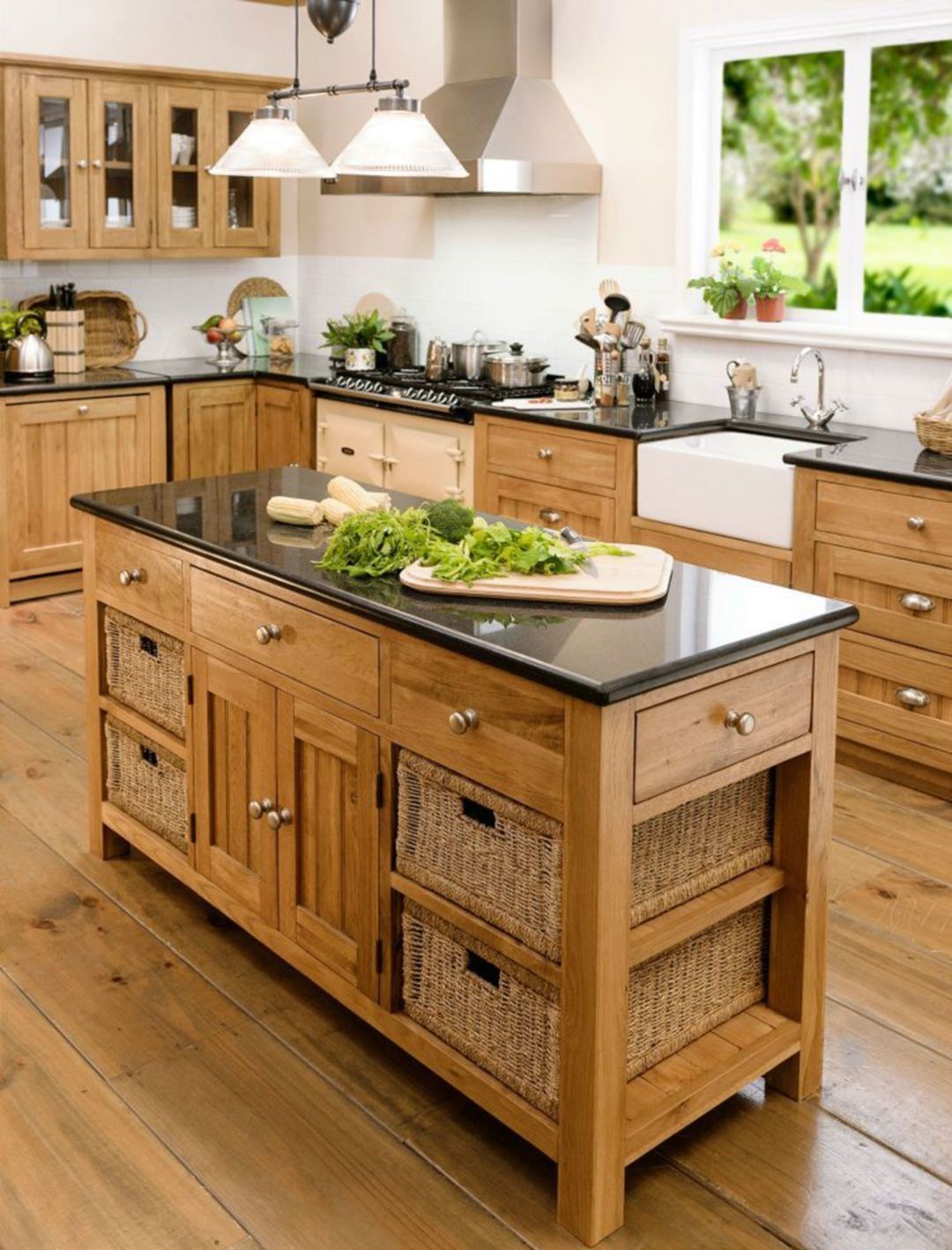 25+ Charming Kitchen Decorating Ideas Using Oak