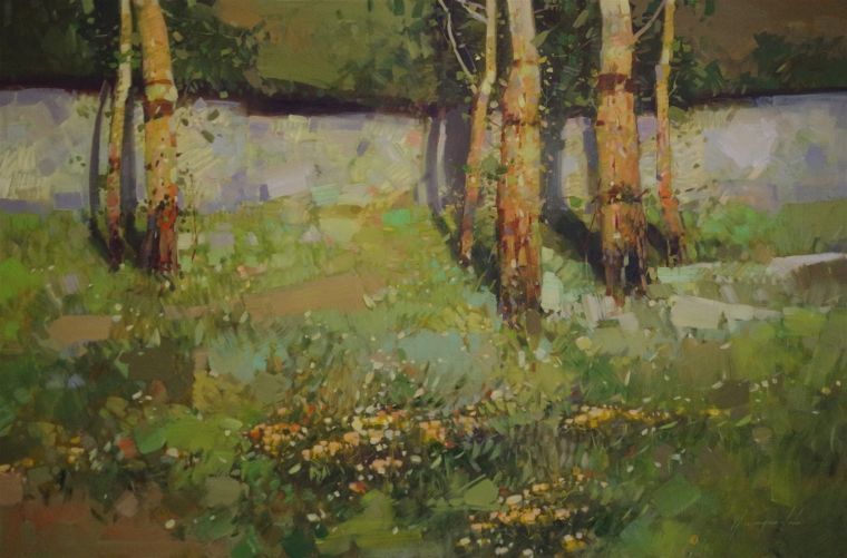 Artist Vahe Yeremyan Work Original oil Painting e of a Kind