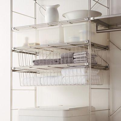 無印良品 Ikeaのキッチンワゴン活用アイディア実例集 保存版 ユニットシェルフ 浴室 収納棚 収納