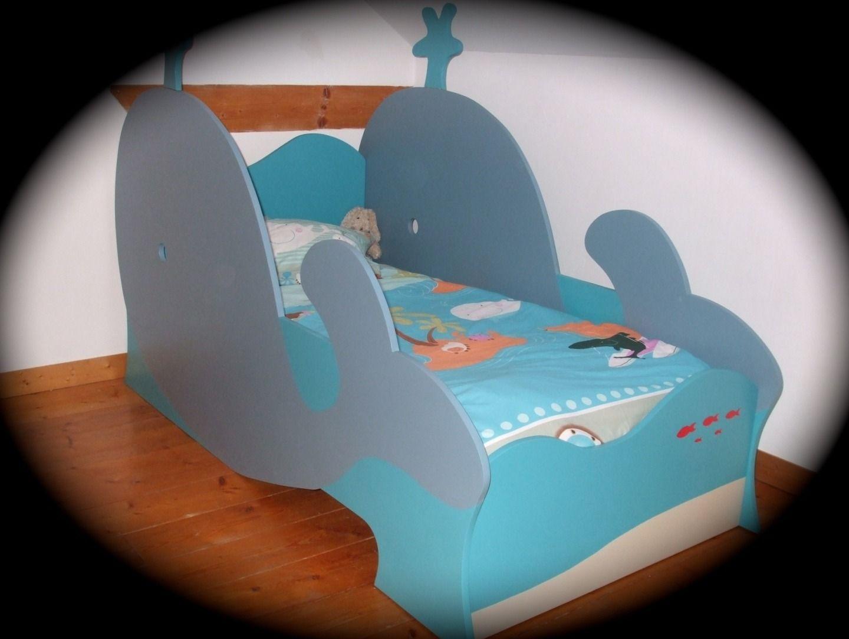 lit baleine pour enfant gar§on original et écologique Chambre d