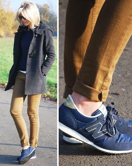 etc. de ahora en adelante Arqueología  Vanessa Bruno Athé Coat, La Redoute Knit, Essentiel Pants, New Balance  Sneakers | New balance outfit, Sneakers outfit, Sneakers fashion outfits