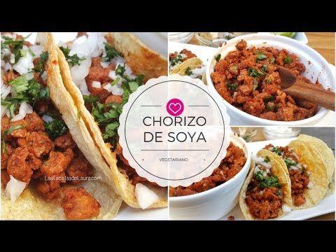 Receta Fácil Para Preparar Chorizo Vegetariano Con Soya Texturizada Un Sabor Delicioso De F Recetas Vegetarianas Recetas De Comida Recetas De Comida Saludable