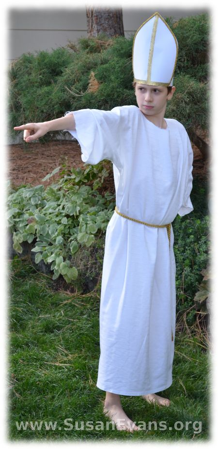 sc 1 st  Pinterest & Bible Costume in Five Minutes | Pope costume Bible and Costumes