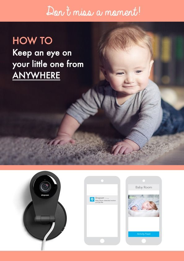 how to use dropcam as a baby monitor