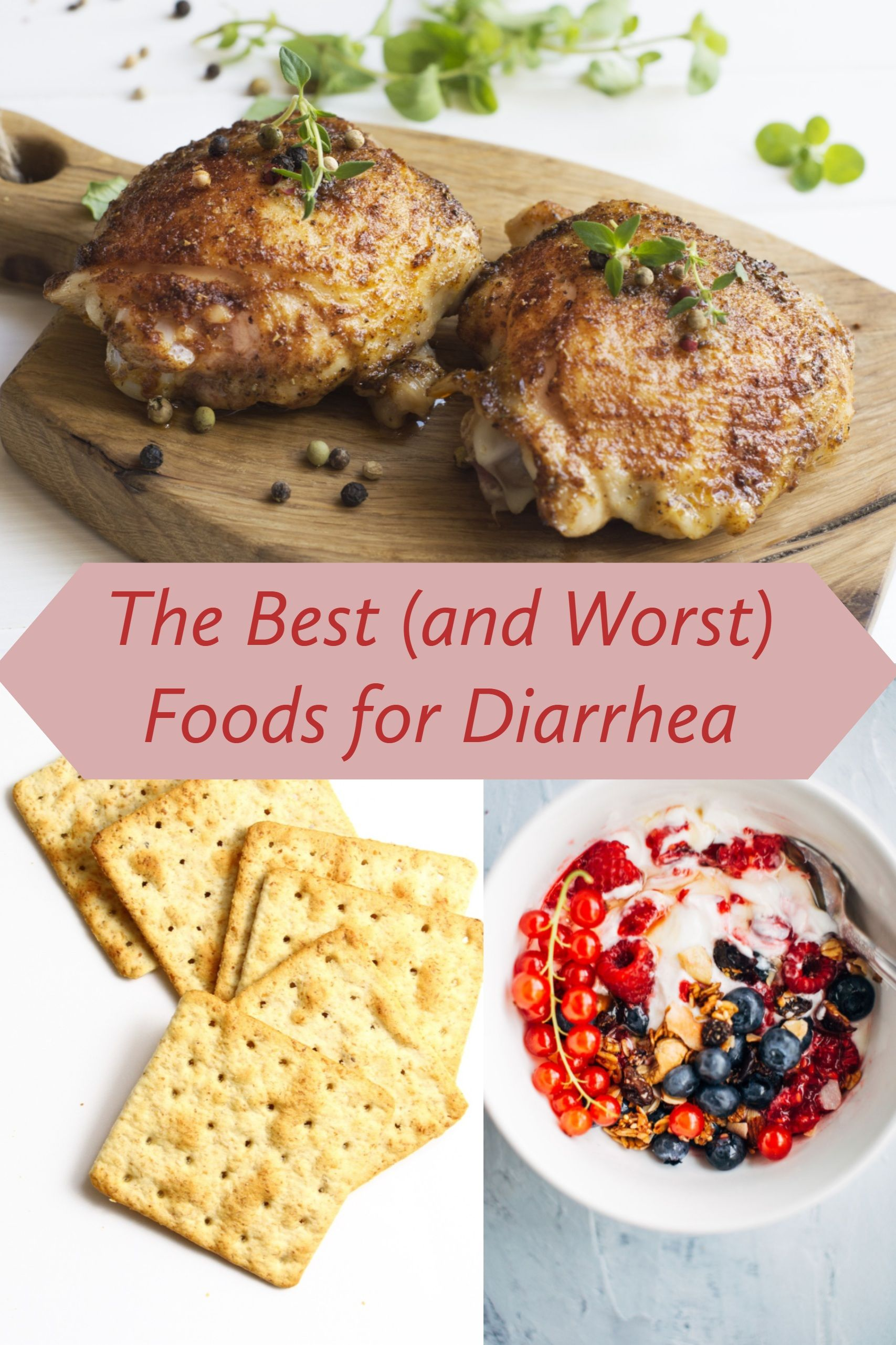 Some foods can make diarrhea worse, and others can keep