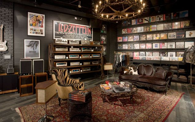 The Rock n Roll Home Gilt Home FOR HIM Pinterest