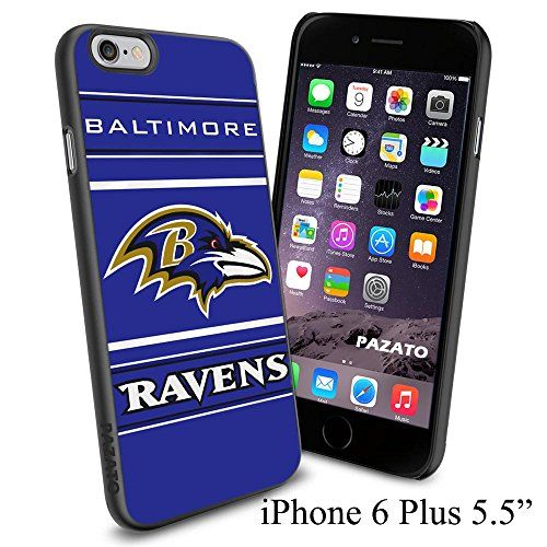 """NFL BALTIMORE RAVENS , Cool iPhone 6 Plus (6+ , 5.5"""") Smartphone Case Cover Collector iphone TPU Rubber Case Black Phoneaholic http://www.amazon.com/dp/B00VWIBS8M/ref=cm_sw_r_pi_dp_nBbmvb0BR6PCW"""