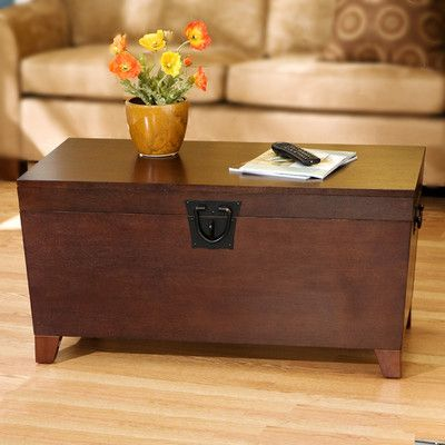 Wildon Home Cascade Trunk Coffee Table with Lift Top & Reviews