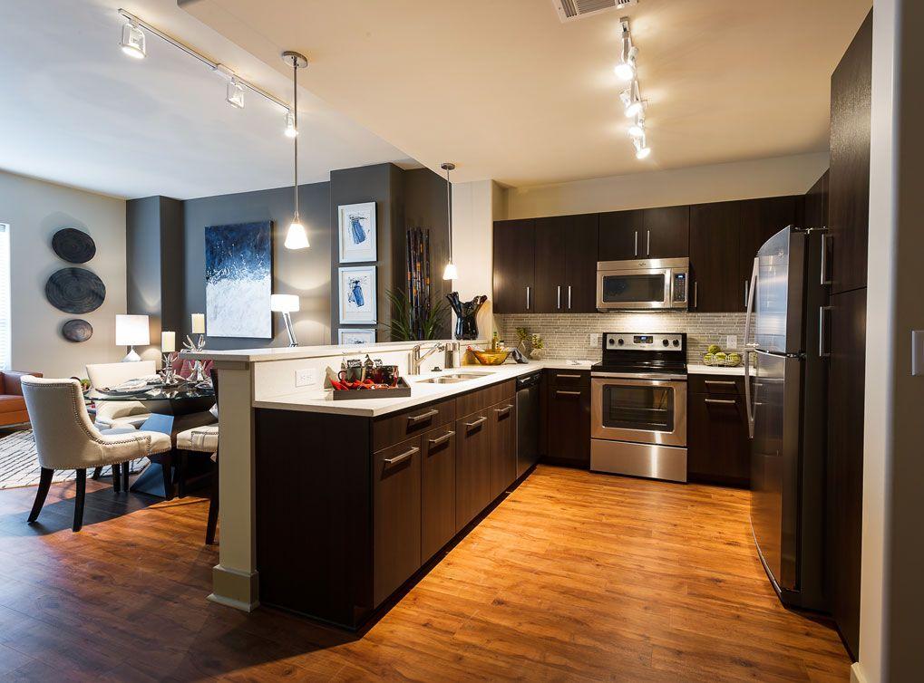 Model Kitchen At Amli River Oaks Amli River Oaks Pinterest