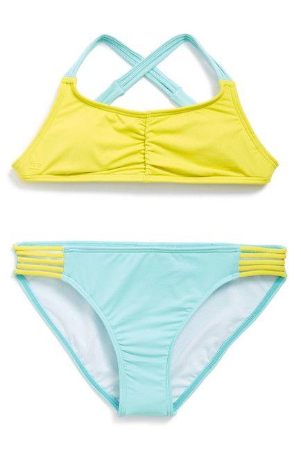 Billabong Girls Sol Searcher Tali Swim Suit
