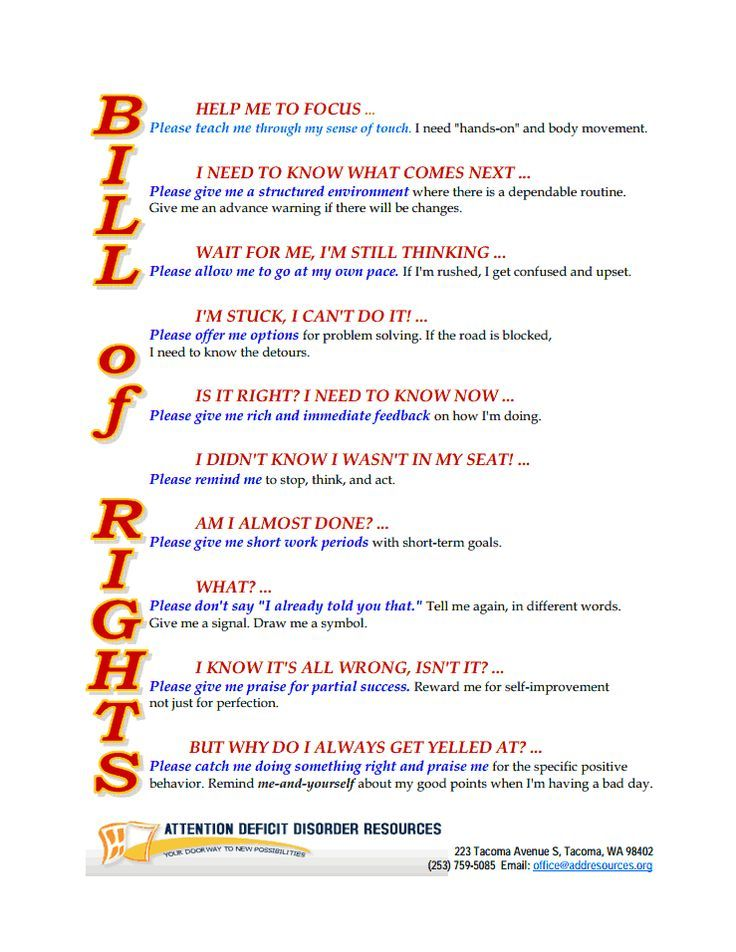 the bill of rights for kids Google Search