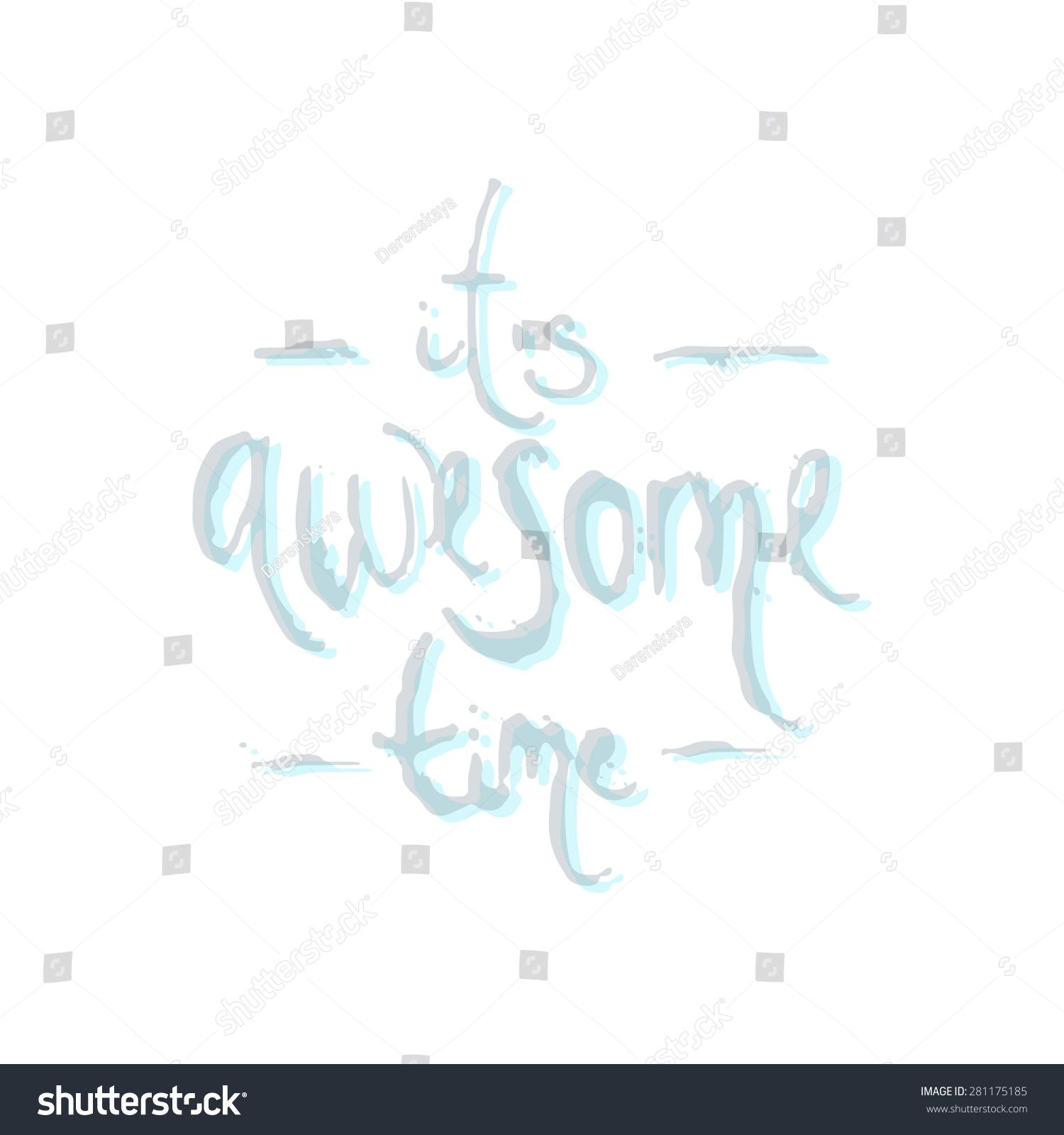 Hand drawn inspirational and encouraging quote Vector
