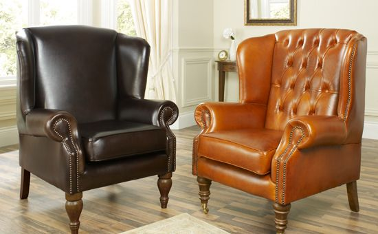 Regency Wing Chair   High Quality, Hand Crafted Leather Sofas: Darlings Of  Chelsea