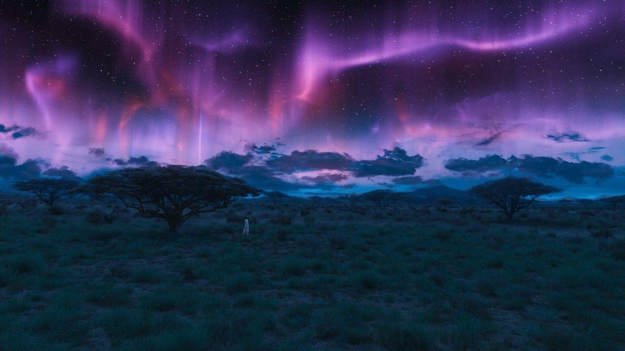 Pin By Santiago Yllescas On Marvel Black Panther Aurora Sky Movie Black
