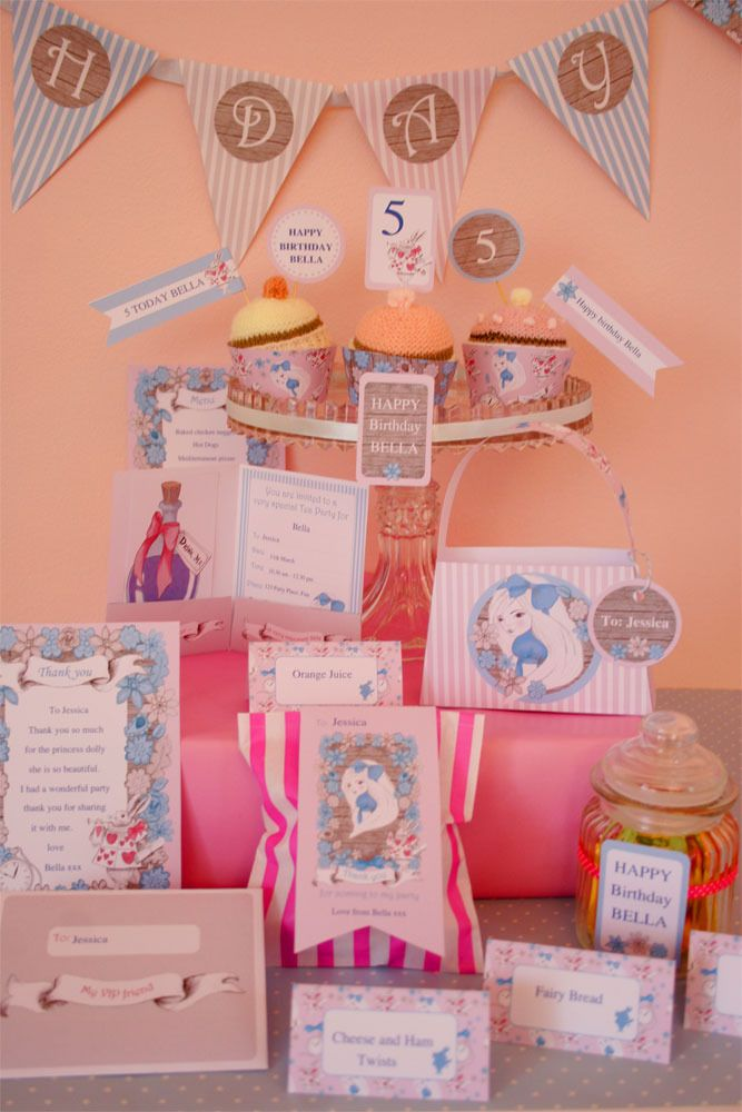 Creative Little Stars — Alice in Wonderland Collection full printable collection $19.50