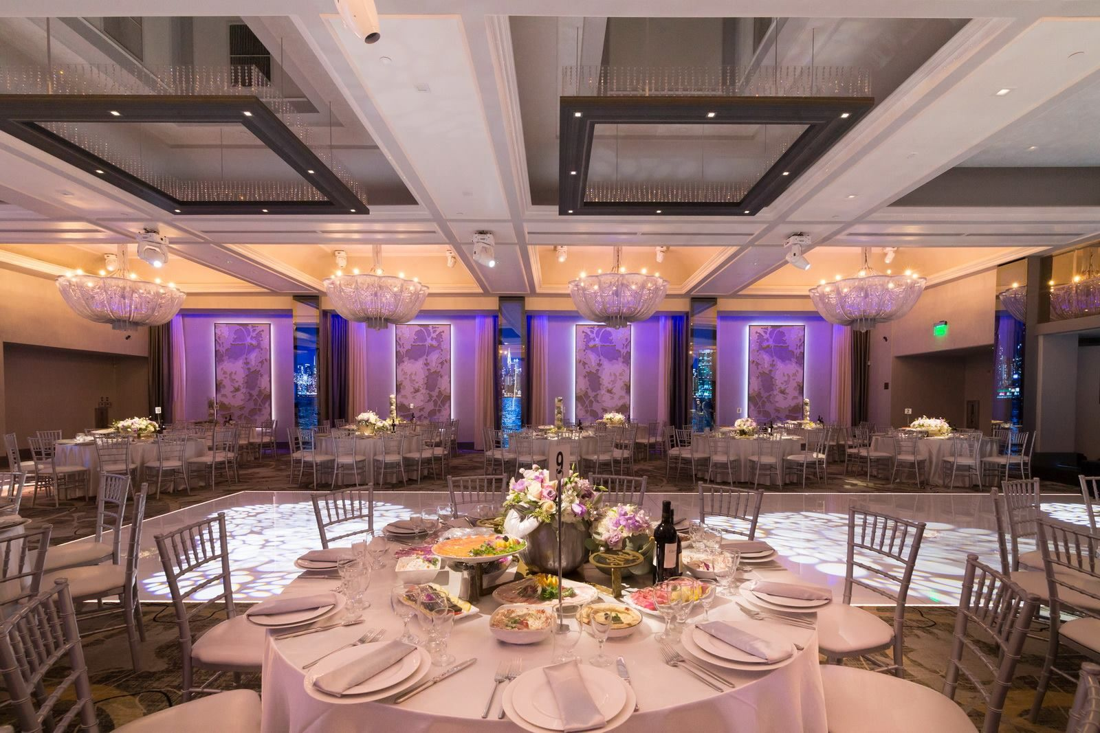 Searching For A Modern Elegant Setting For Your Wedding Contact Us To Tour The Beautiful Legacy Ballroom Ballroom Blue Hues Banquet