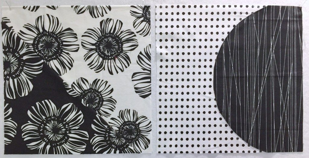 Mini Mini Quilt Black Mini Quilt Black Quilt Fiber Art Mini Quilt