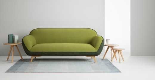 Contemporary Portofino 3 Seat Sofa Two tone Olive Unique - Best of 2 seater sofa In 2019