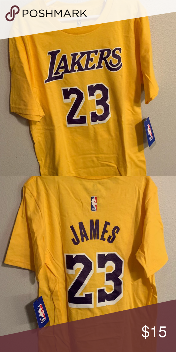 new concept 90940 c064b LeBron James Lakers shirt Official NBA shirt. Brand new ...