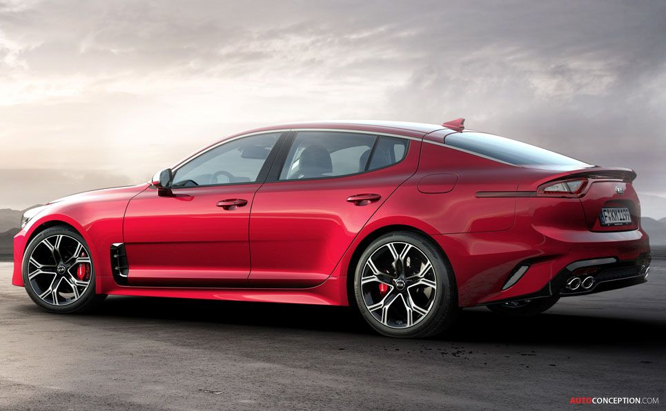 2018 Kia Stinger GT Revealed at Detroit Auto Show car
