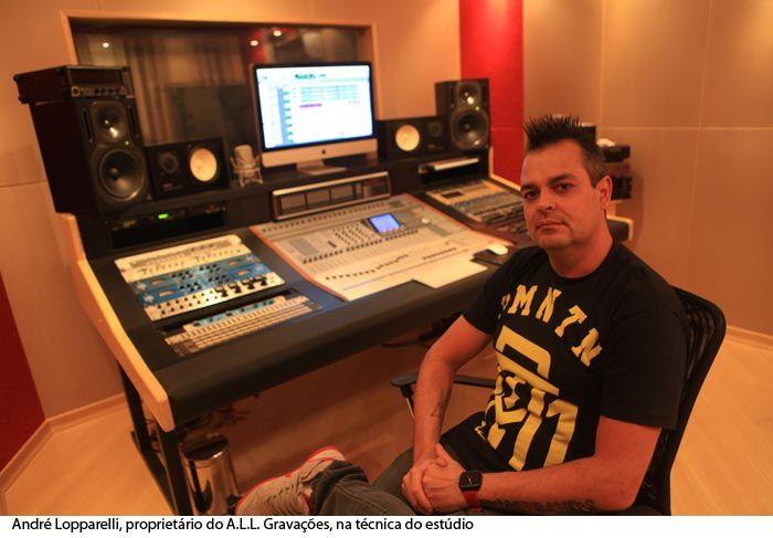 Áudio Música & Tecnologia: A.L.L. Gravações