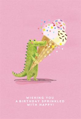Cute Green Crocodile Birthday Card Greetings Island Birthday Cards Happy Birthday Cards Printable Cards
