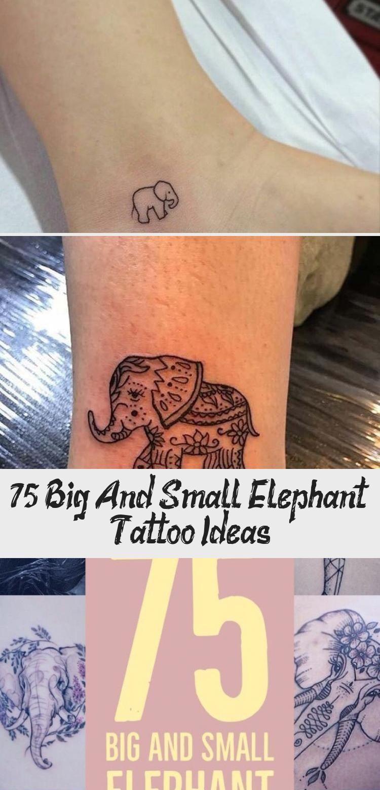Photo of 75 idées de tatouages pour grands et petits éléphants – TATOUAGE – 75 tatouages pour grands …