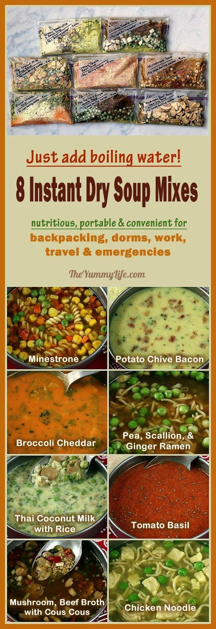 week of light and nutritious food for the backpacker - How to prepare and prepare 7 days of... A we