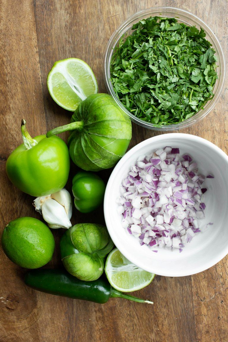 Best Roasted Tomatillo Salsa Verde