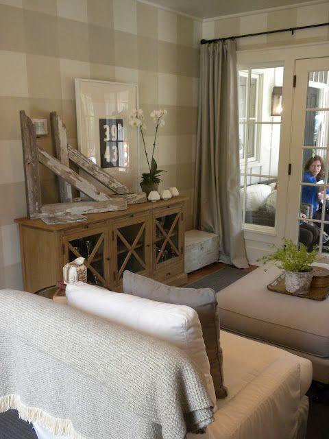 Southern Living Idea Houe keeping room via Donna s Blog A