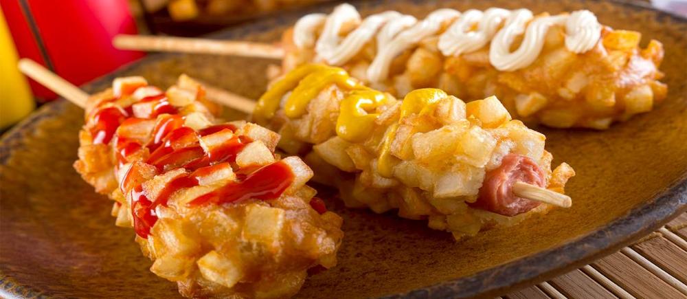 Korean Corndog Traditional Hot Dog From South Korea Tasteatlas Fair Food Recipes Food Korean Corn Dog Recipe