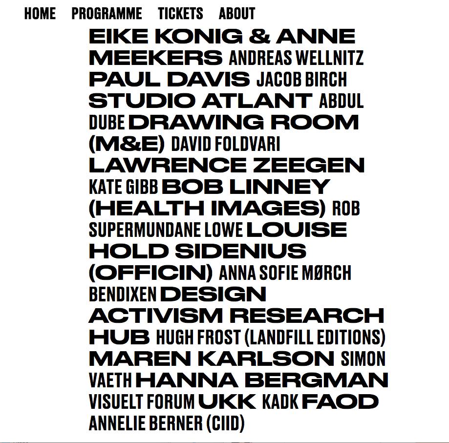 Druk Wide Druk Medium On The Post Design Festival Website Type