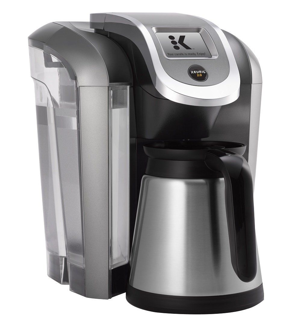 Keurig K575 Single Serve Programmable K Cup Coffee Maker with 12 oz