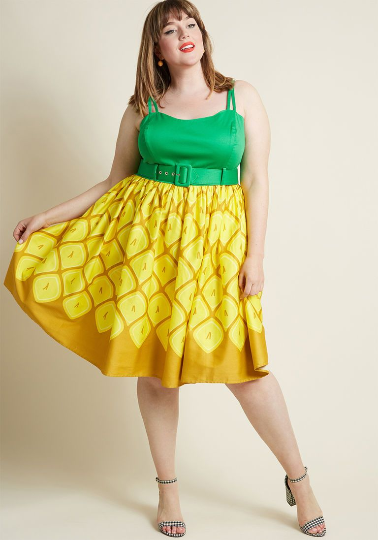 Collectif x MC Pin-Up Colada A-Line Dress | Affordable fashion ...
