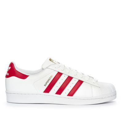 Nilson Shoes Sneakers Sko Skinn Vit | Sneaker, Adidas