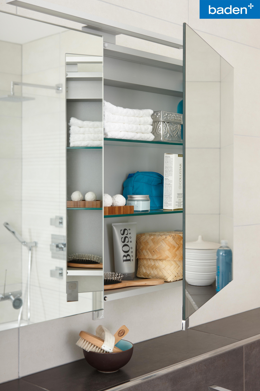 Ruimte boven je badmeubel? Kies voor een spiegelkast! Een eenvoudige ...