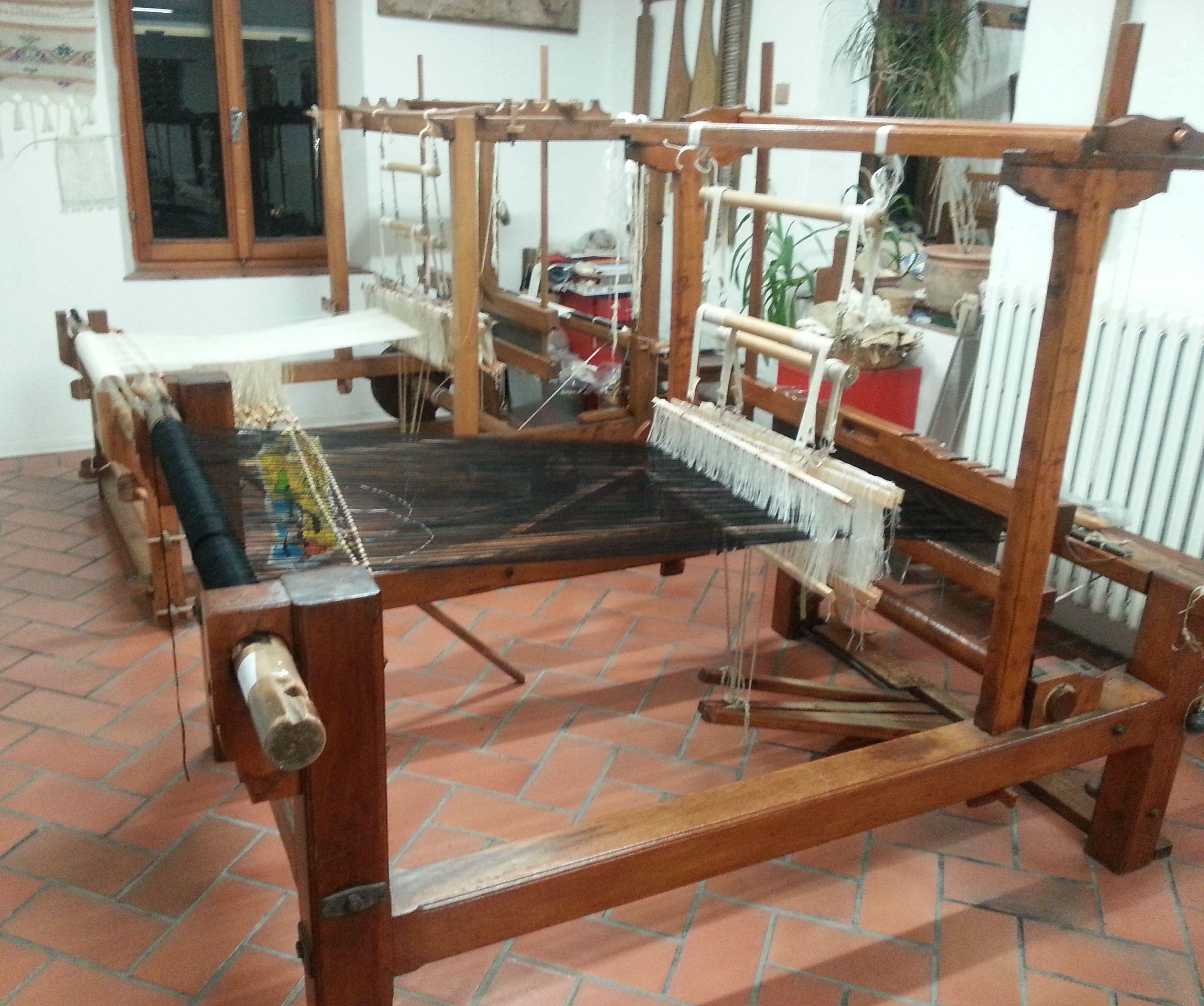 Antichi telai E possibile trovarli presso il museo della Tessitura di Macerata