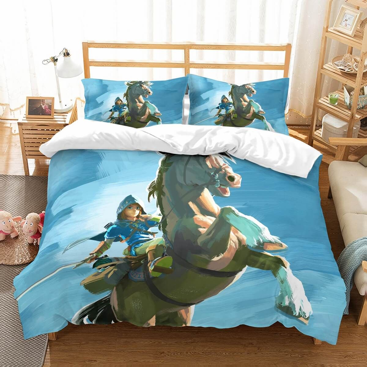 3D Customize The Legend Of Zelda Breath Of The Wild Bedding ...