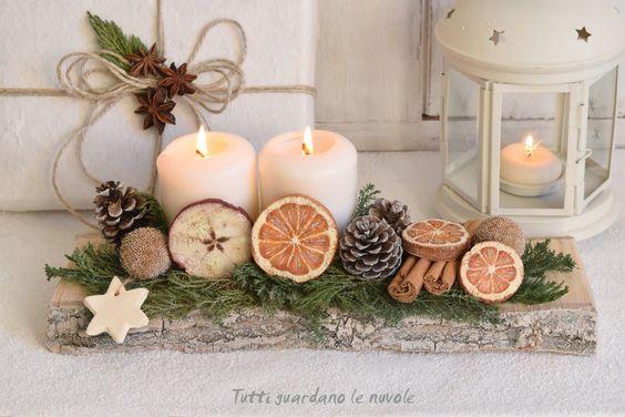 Decorazioni In Legno Natalizie : Packaging natalizio decorazioni in stile country da realizzare