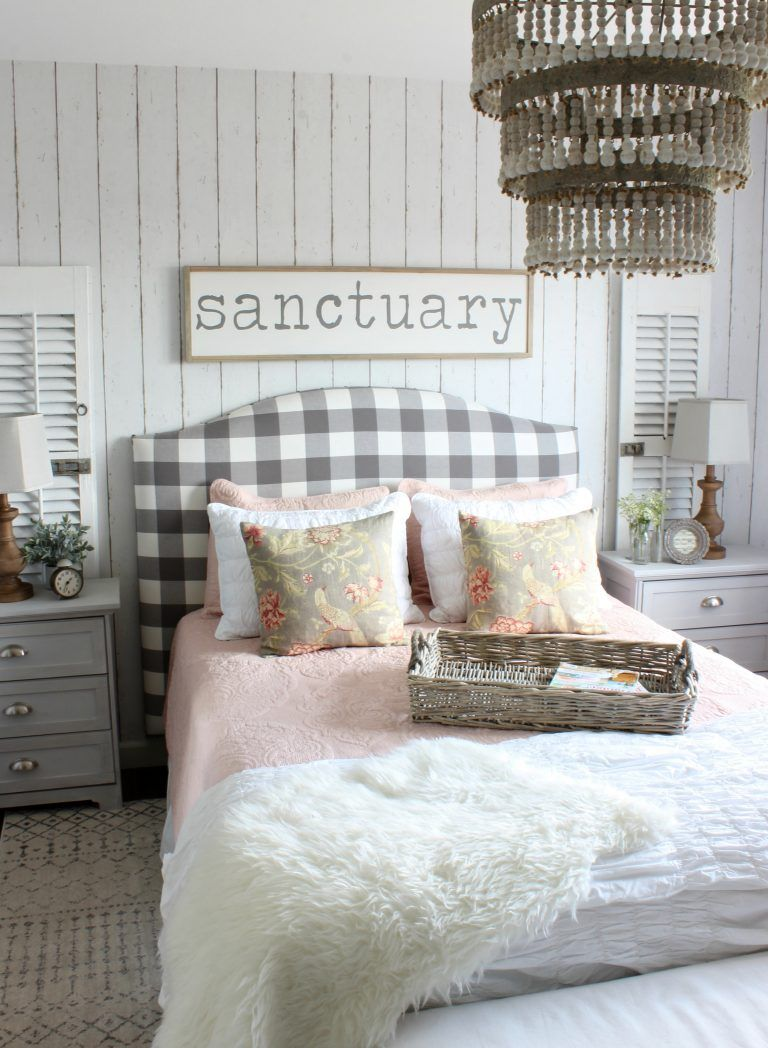 2017 Summer Home Cottage Style Bedroom
